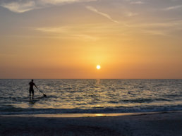 Beach, Florida, Sunrise, Sunset