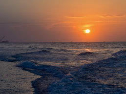 Beach, Myrtle Beach, Sunrise, Sunset
