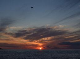 Beach, Cleveland, Sunrise, Sunset